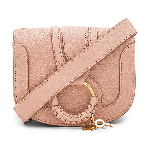 "SEE BY CHLOE Hana Shoulder Bag - ""Leather exterior with canvas lining. Flap top with..."