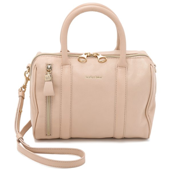 See By Chloe Harriet cross body bag in nude - A leather See by Chloé bag has understated appeal with...