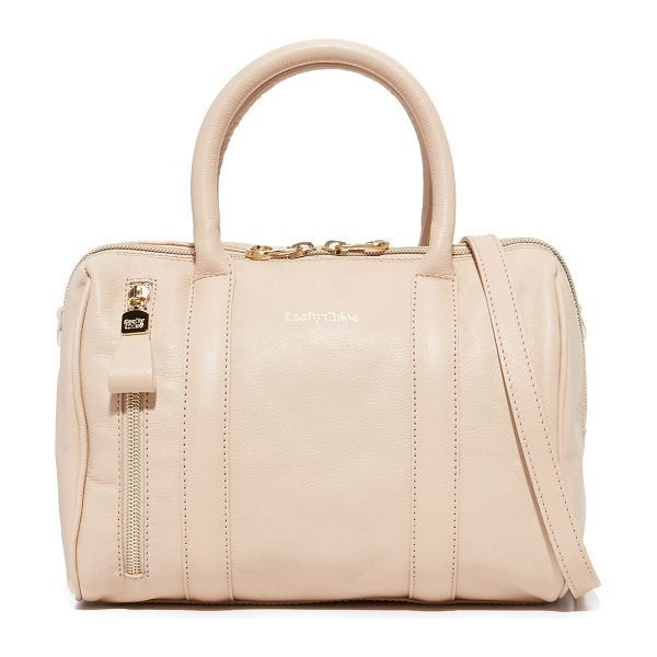 SEE BY CHLOE See By Chloe Harriet Satchel - A structured See by Chloé bag in luxe, pebbled leather....