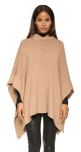 SEE BY CHLOE Hooded poncho - An extra cozy See by Chloé poncho in a soft alpaca...
