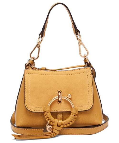 See By Chloe joan mini leather cross body bag in brown