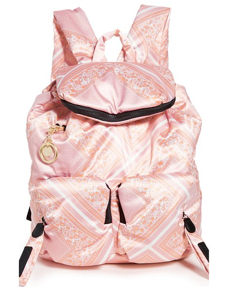 See By Chloe joy rider backpack in fallow pink