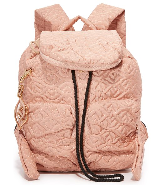 SEE BY CHLOE Joy rider backpack - A quilted nylon See by Chloé backpack with 2 optional...