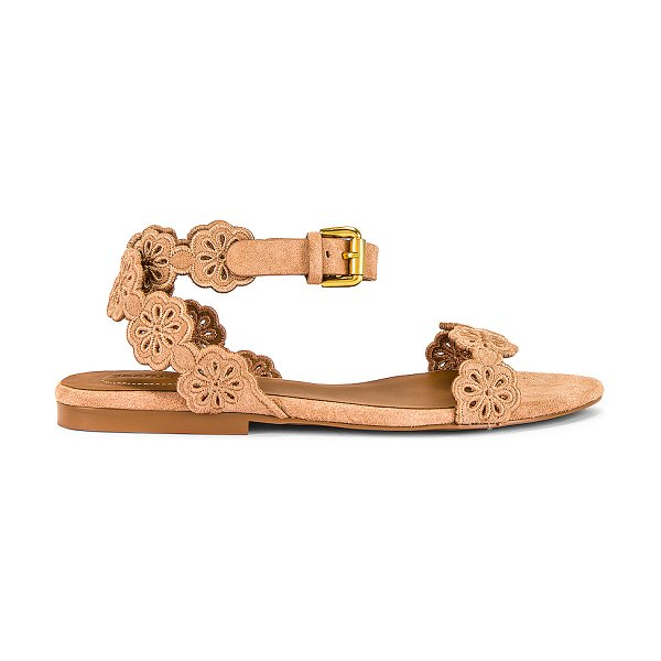 See By Chloe kristy ankle strap sandal in cipria