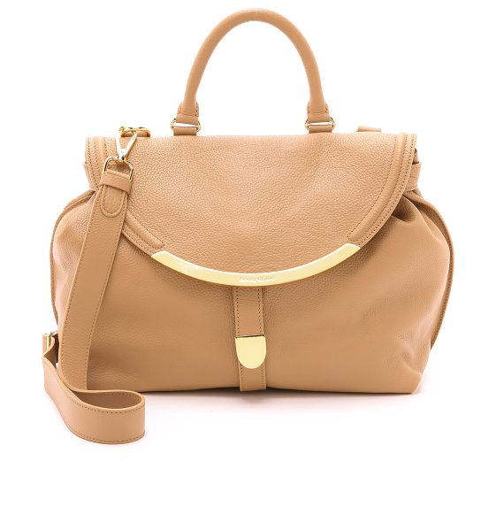 See By Chloe Lizzie satchel in cappuccino - A slouchy See by Chloe shoulder bag in soft leather. The...