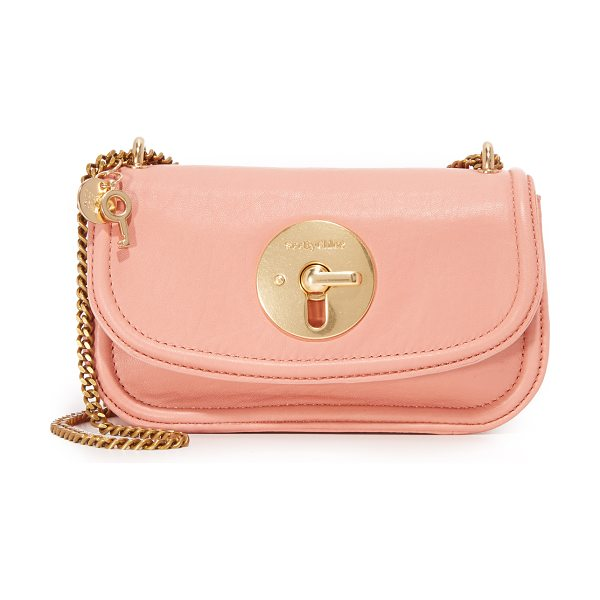 SEE BY CHLOE Lois cross body bag - A tiny See by Chloé cross body bag crafted in buttery...