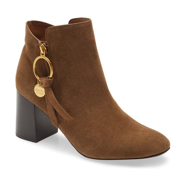 See By Chloe louise bootie in brown
