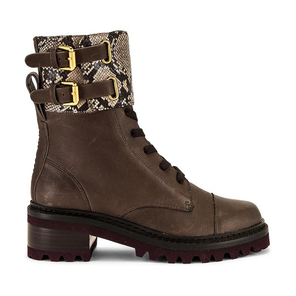 See By Chloe mallory boot in medium brown