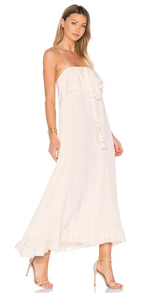 See By Chloe Maxi Dress in pink - Self: 100% silkContrast: 100% cotton. Dry clean only....