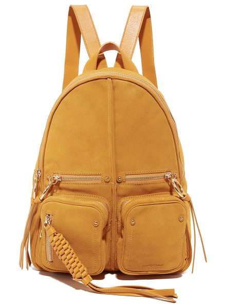 See By Chloe patti backpack in honey - This supple See by Chloé backpack is rendered in a mix...