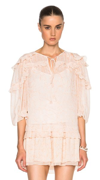 See By Chloe Printed top in pink,abstract