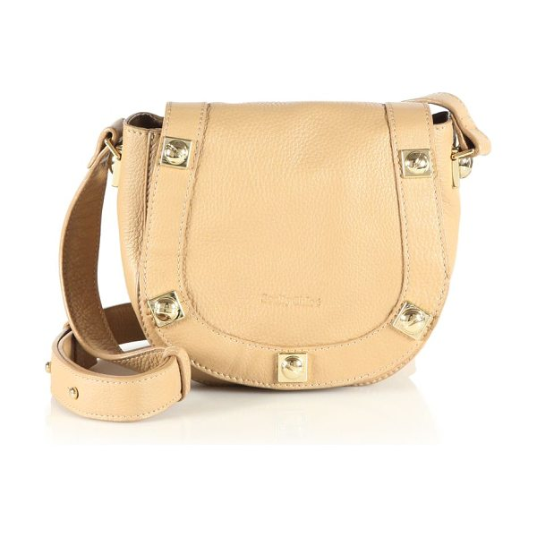 See By Chloe Sadie leather mini bag in cappuccino - This elegant mini bag is rendered in sumptuous Italian...