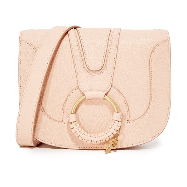 See By Chloe hana saddle bag in powder