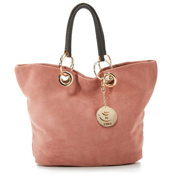 See By Chloe summer tote in terracotta - A slouchy See by Chloé tote in rich suede. A polished...