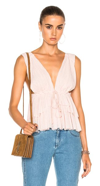 SEE BY CHLOE Tank Top - Self: 100% polyLining: 100% cotton. Made in Portugal....