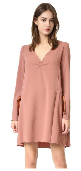 SEE BY CHLOE tie shift dress - A slouchy See by Chloé shift dress in tactile crepe....