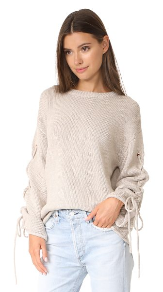 See By Chloe tie sleeve sweater in birch - This slouchy See by Chloé sweater has a relaxed feel,...