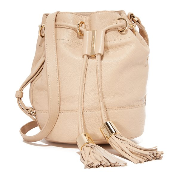 See By Chloe Vicki bucket bag in sandshell - A slouchy See by Chloé bucket bag rendered in soft,...
