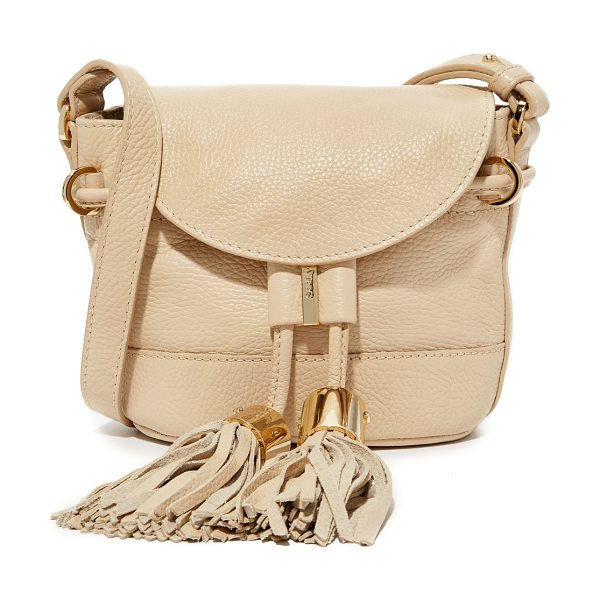 See By Chloe vicki cross body bag in sandshell - A petite See by Chloé cross body bag, accented with...