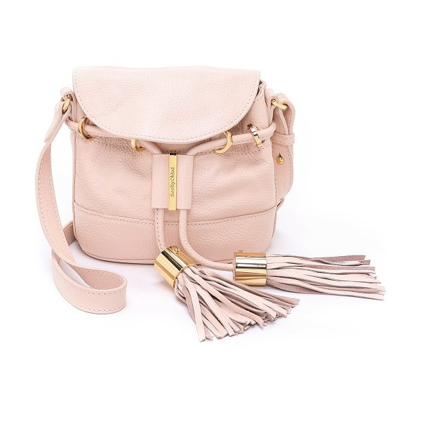 See By Chloe Vicki cross body bag in pink/beige - A petite See by Chloe cross body bag in pebbled leather....