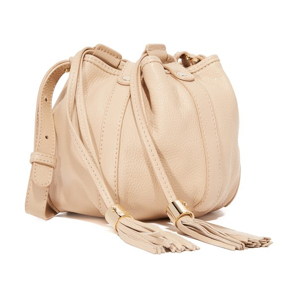 See By Chloe Vicki mini bucket bag in sandshell