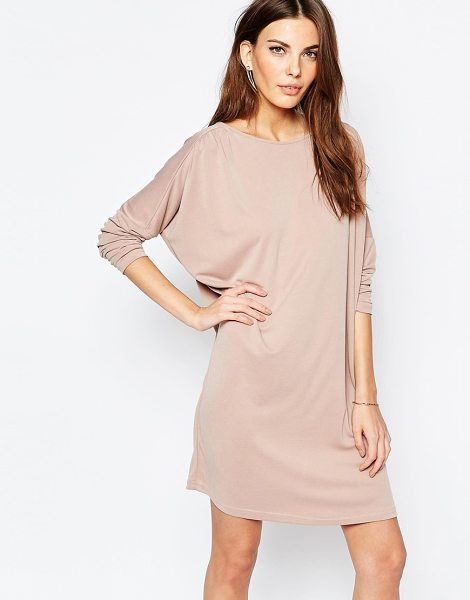 Selected Raida Dress in pink - Dress by Selected, Fine gauge knit, Round neckline,...