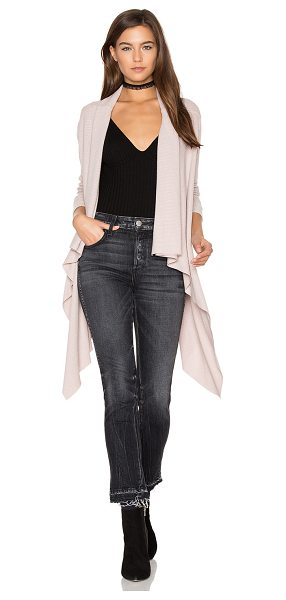 Sen Phoenix Cardigan in blush - 62% modal 33% poly 5% spandex. Dry clean only. Open...