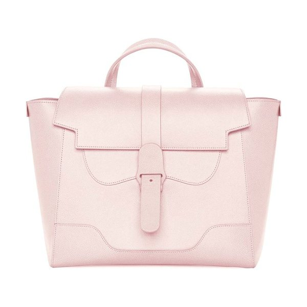 SENREVE maestra pebbled leather satchel - This supremely versatile and stunning bag crafted from...