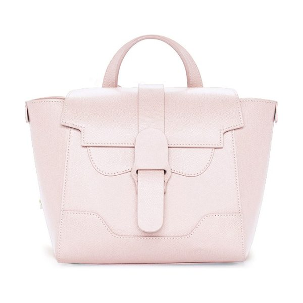 SENREVE mini maestra pebbled leather satchel - This scaled-down version of a signature bag is crafted...