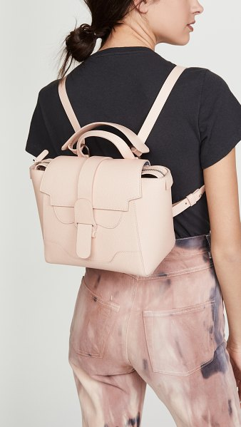 Senreve the mini maestra bag in blush