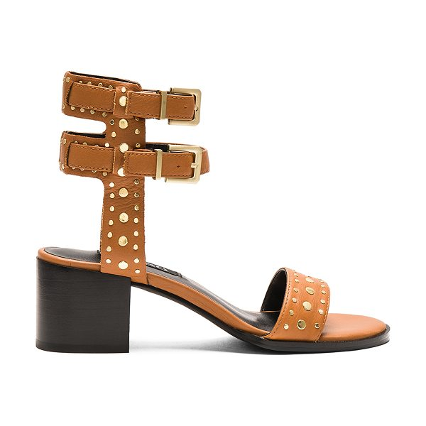 "SENSO Jillie Heel in cognac - ""Leather upper with man made sole. Double ankle straps..."