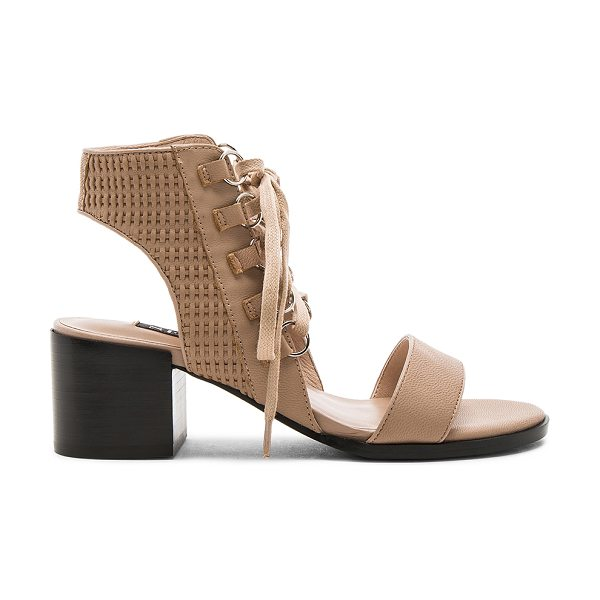 SENSO Milo Sandal in beige - Leather upper with man made sole. Lace-up front with tie...