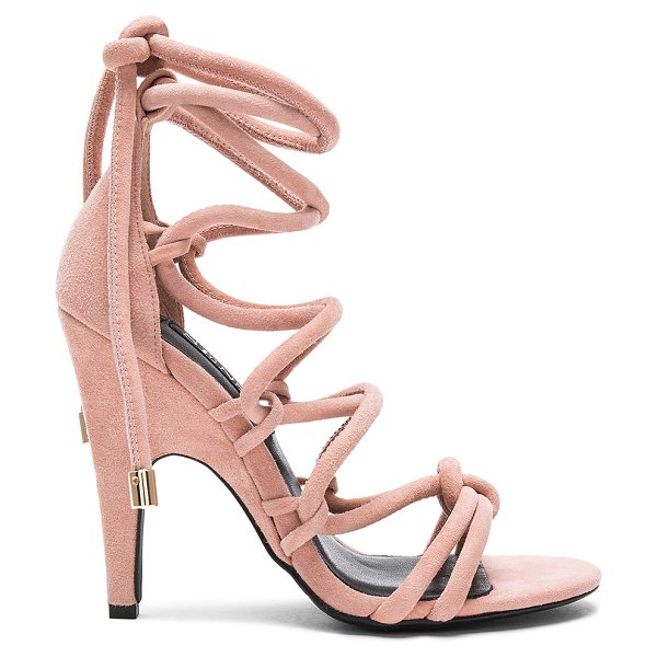 "SENSO Priya Heel in pink - ""Suede upper with man made sole. Lace-up front with wrap..."