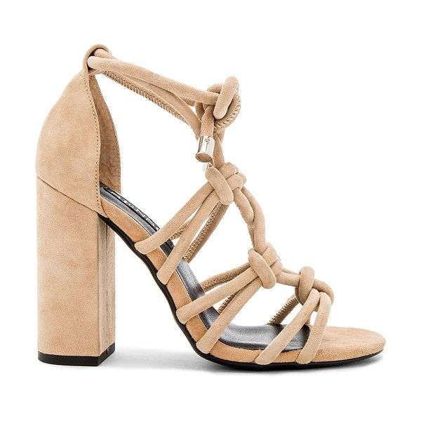 SENSO Vanita Heel in sand - Suede upper with man made sole. Lace-up front with tie...