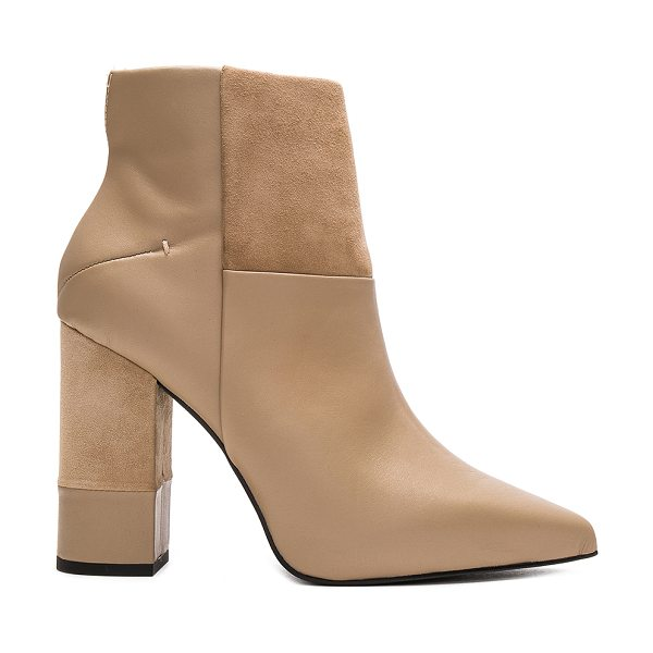 SENSO Warren I Bootie in beige - Leather and suede upper with man made sole. Side zip...