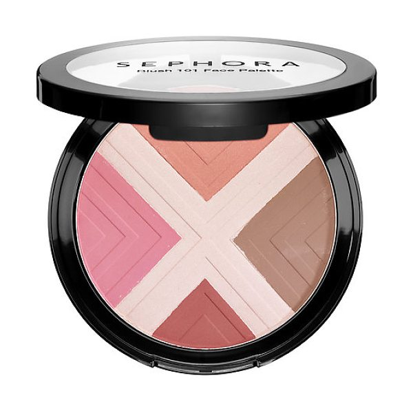 SEPHORA COLLECTION Blush 101 Face Palette