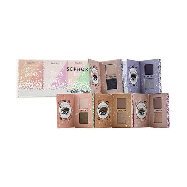 SEPHORA COLLECTION Color Wishes 5 Eyeshadow Palettes - A set of five matchbook-size, color-coordinated...
