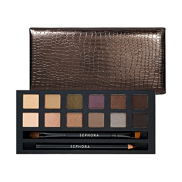 SEPHORA COLLECTION IT Palette - Nude - A must-have eye makeup palette featuring natural,...