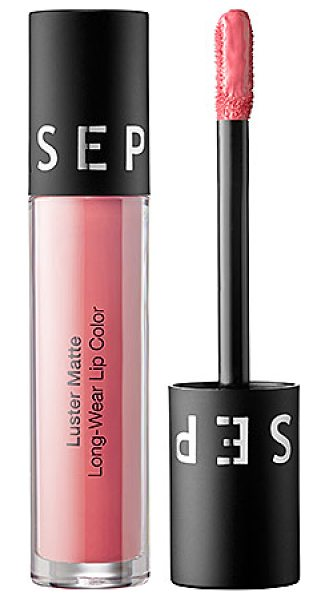 SEPHORA COLLECTION Luster Matte Long-Wear Lip Color Nude Pink Luster - An ultralightweight, modern matte lip color with a...