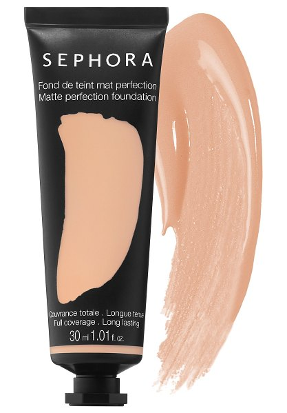SEPHORA COLLECTION Matte Perfection Full Coverage Foundation 19 Warm Linen 1.01oz/30 mL