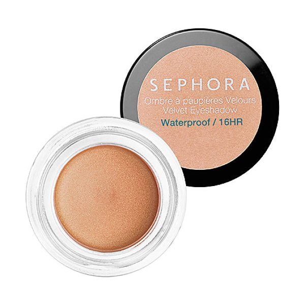 SEPHORA COLLECTION Velvet Eyeshadow N 03 - A creamy, waterproof eye color. This velvety,...