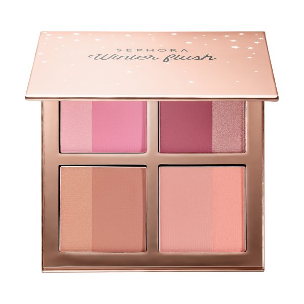 SEPHORA COLLECTION Winter Flush Blush Palette 4 x