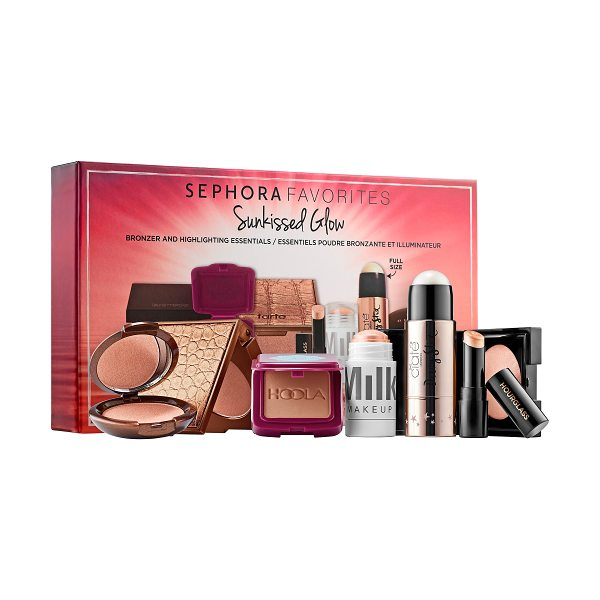 Sephora Favorites Sunkissed Glow - A multibranded kit with bronzer and highlighting...