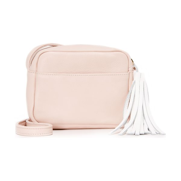 Shaffer Shaffer Stephanie Camera Bag in blush - A petite Shaffer bag in luxe, full grain leather. Slim...