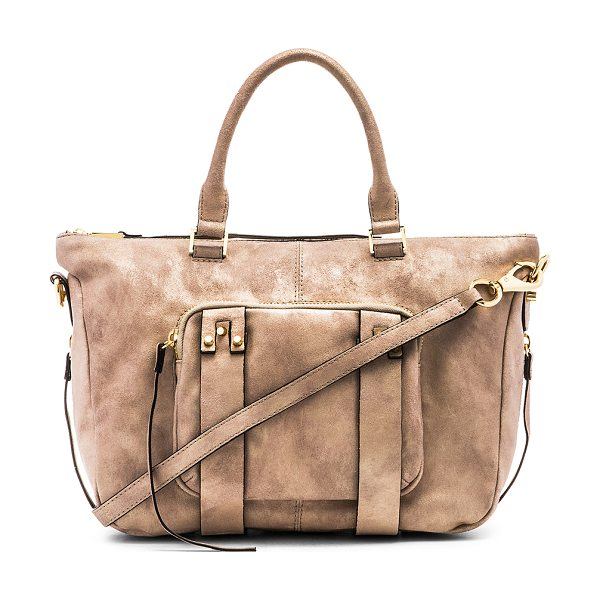 She + Lo Next chapter satchel bag in taupe
