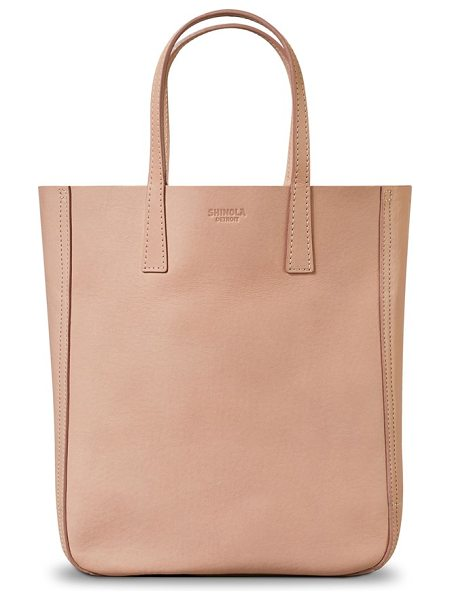 SHINOLA mini leather shopper - Streamlined yet deceptively spacious, this luxe shopper...