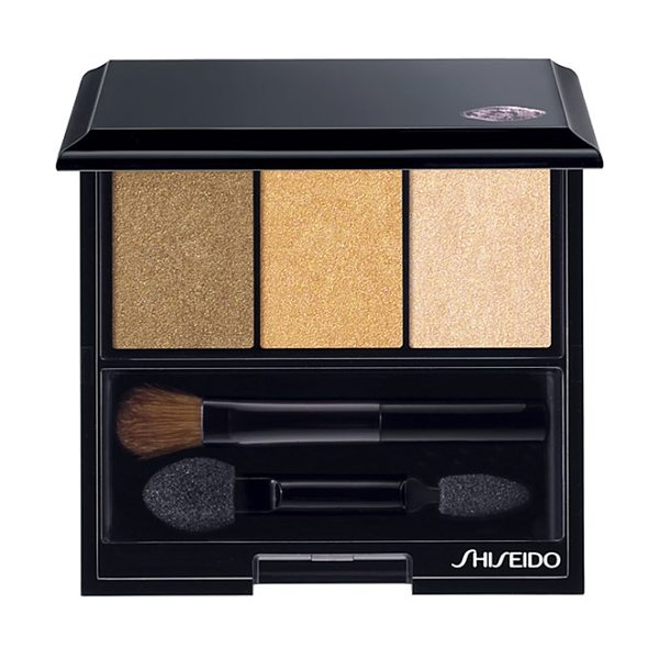 Shiseido 'the makeup' luminizing satin eye color trio in rd299 beach grass
