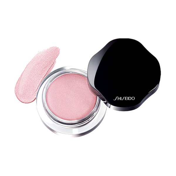 Shiseido shimmering cream eye color in pk214 pale shell - A lightweight cream eyeshadow with a radiant, lustrous...
