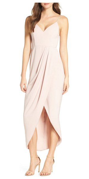 Shona Joy tulip hem maxi dress in pink