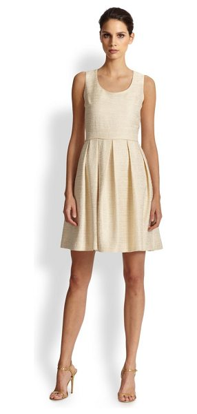 SHOSHANNA Melody dress in desertivory - Perhaps one of the most flattering silhouettes around,...